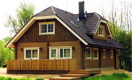 エストニア産ログハウス